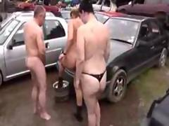 Horny German Sluts - Outdoor