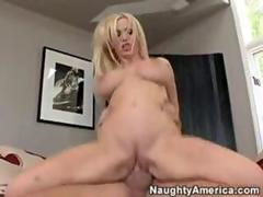 Stimulating package blowjob 2