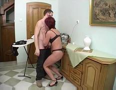 Mother and boyfriend Anal Sex