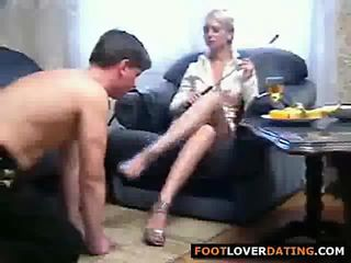Hot Russian Foot Domination