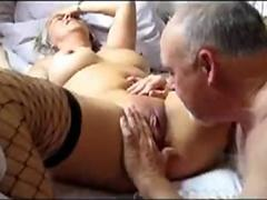Licking my 60 years sexy wife to an orgasm