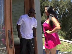 Big asian girl stuffed by black meat movie