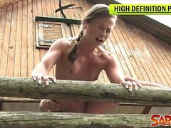 Pov outdoor fucking with nicky sweet clip