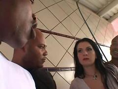 Renee Pornero DP And Gangbang With Big Cock Ones
