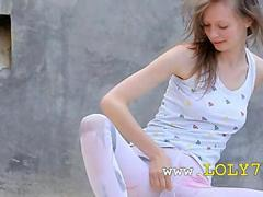 Beautiful shower from thin sexing doll movie