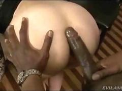 Whooty Brunette Anal Pounded Hardcore With BBC