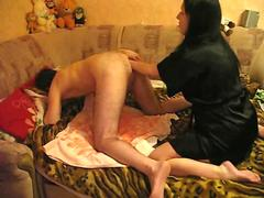 Double anal fisting for husband