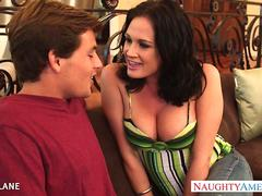 Tattooed brunette Tory Lane fucking
