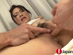 JAPAN HD Hairy Creampie for squirting Japanese Teen