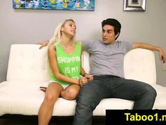 FetishNetwork Marsha May gives stepbro sloppy BJ