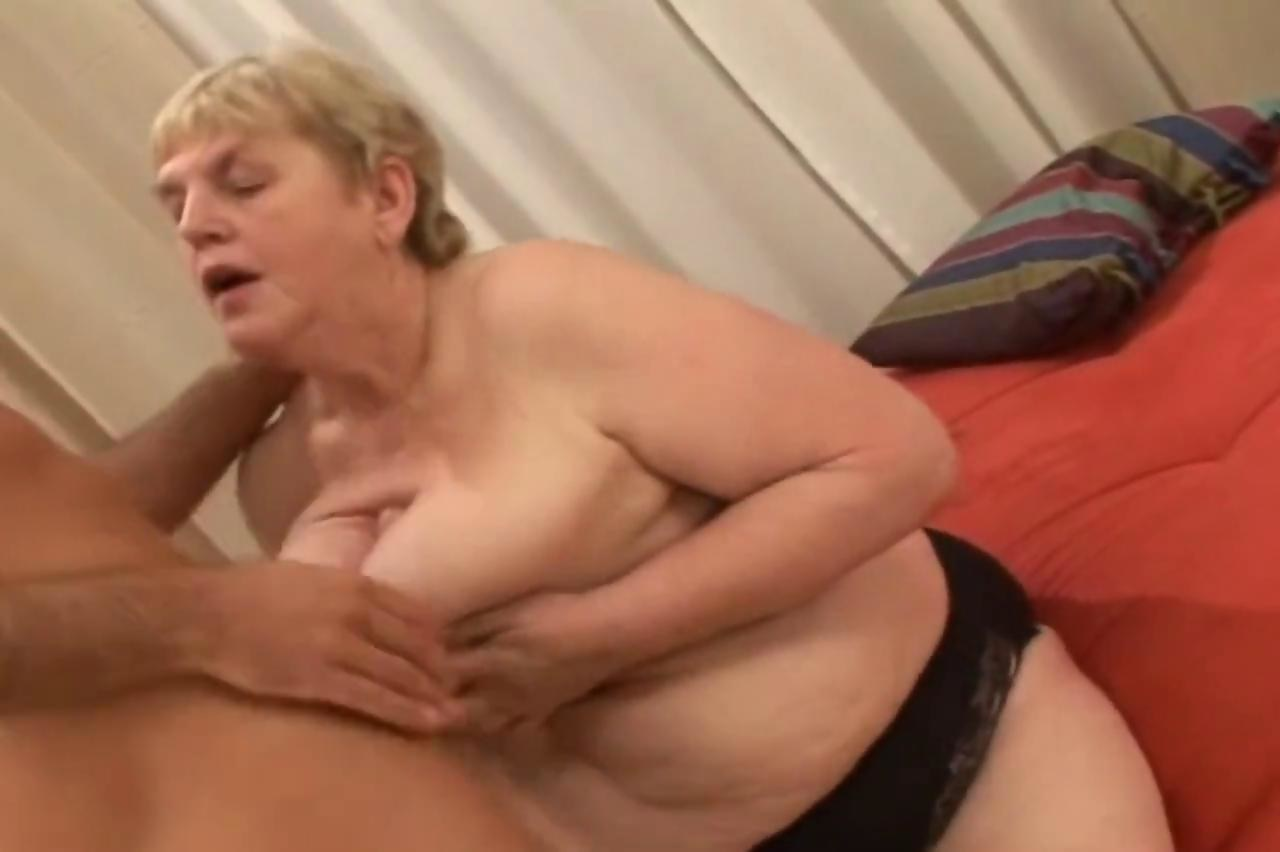 Old fat women sex