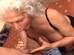 seductive porn with old granny  movie