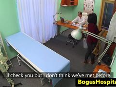 Bogus doctor fucks nurse and patient