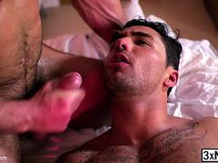 Horny cock Paddy O Brian is craving for a virgin ass and Bruno Bernal is willing to gets fucked