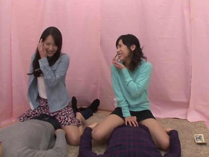 Hot squirting japanese lesbian teens
