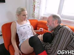 chick teased by old crock clip video 1