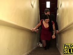 Delicious Kimmie Fox visits Pascal for her sub adventure