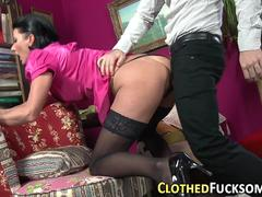 posh clothed euro ho jizz feature