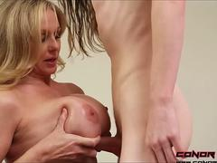 ConorCoxxx Lets play while dad's away with Julia Ann
