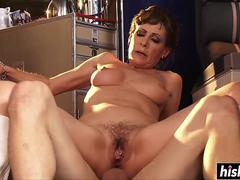 Alexandra Silk gets a raging boner