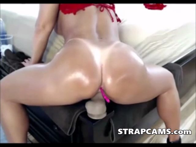 Big Booty Milf Dildo Ride