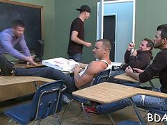hot blowjob in the classroom feature