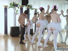 Teen interracial hd Ballerinas