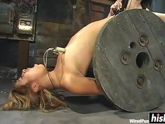 Kat gets tied up and dominated
