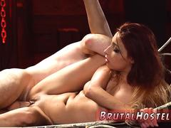 Celebrity rough and mother friend bondage Poor lil Jade Jantzen she just wished to have