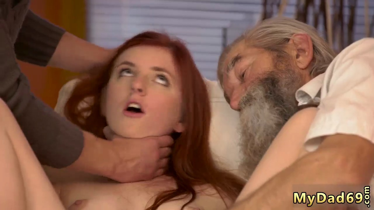 Teen Black Girl Old White Guy