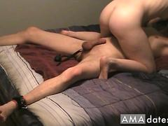 Eating cum from my pussy