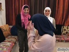 Brutal teen Hot arab dolls attempt foursome