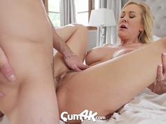 CUM4K Best Creampie fuck with Brandi Love