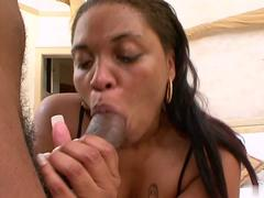 Black ladies love getting fucked by huge chocolate rods, and if they have