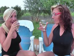 18yr German Teens lost Bet and do First Time Lesbian Sex