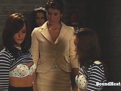 Betrayed Cargo Two Young Lesbian Sisters Playing In Prison