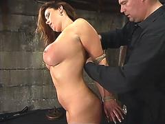 Christina carter is canned whipped tickled and pushed hard