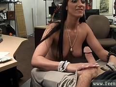 She puts it back in as cum and pussy creaming on big dick Another Satisfied Customer