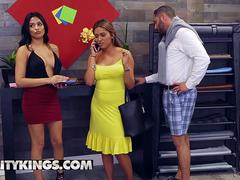 Reality Kings - Sneaky Sex - Serena Santos Damon Dice - Semen Seamstress