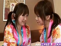 Sweet lezzie XXX scenes between two hot babes - More at hotajp.com