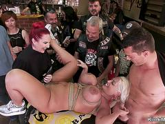 Monster tits alt sub dp banged in public