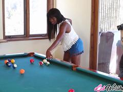 Interracial sex with Ana Foxxx and Rizzo Ford
