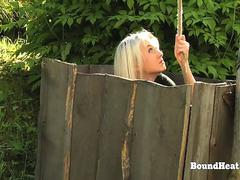 Disappeared On Arrival 2 Bound Lesbian Slave In Chains Punished And Dominated