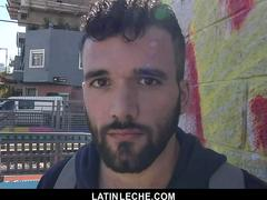 LatinLeche - Hot Latino Hunk Gets His Tight Hole Double Penetrated
