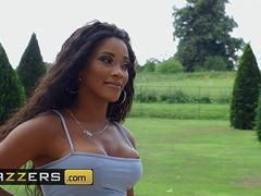 Brazzers - Kiki Minaj  Danny D - Nude To The Neighborhood