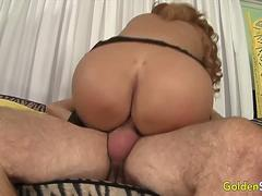Golden Slut - Stunning Mature Blondes Getting Drilled Compilation Part 1