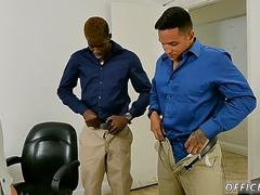 Big african dick fucks straight boy gay xxx The squad that works together drills together