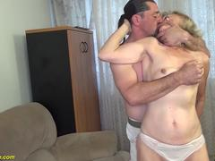 extreme ugly 81 years old mom banged by stepson