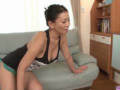 Mommy is faced with dealing two young cocks - More at Slurpjp.com