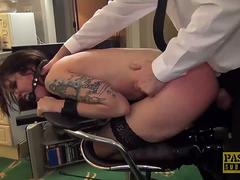 PASCALSSUBSLUTS - Subslut Lilyan Red Roughfucked by Master